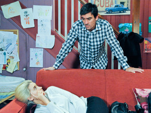 6410:  Moira waits in the Woolpack for Cain but he decides that Debbie needs him more and tells her he'll take over from Andy at the hospital so she can get some rest