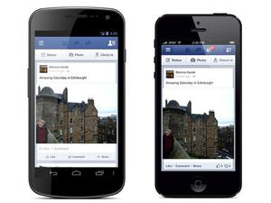 Facebook adds 'Share' button to mobile app