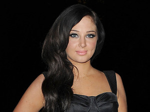 Tulisa Contostavlos leaving Grosvenor House Hotel. London, England - 05.11.12 Mandatory Credit: Will Alexander/WENN.com