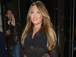 Lauren Goodger leaving Novikov restaurant Mayfair London, England - 24.10.12 Mandatory Credit: Jaworski/WENN.com