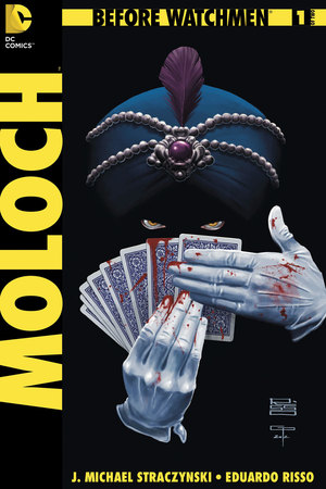 'Before Watchmen: Moloch' #1 cover