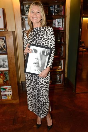 Kate Moss, book launch