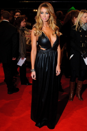 Lauren Pope The premiere of 'The Twilight Saga: Breaking Dawn - Part 2'  held at the Odeon, Leicester Square - Arrivals. London, England