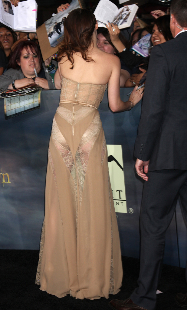 Kristen Stewart The premiere of 'The Twilight Saga: Breaking Dawn - Part 2' at Nokia Theatre L.A. Live - Arrivals Los Angeles, California - 12.11.12 Mandatory Credit: Nikki Nelson/WENN.com