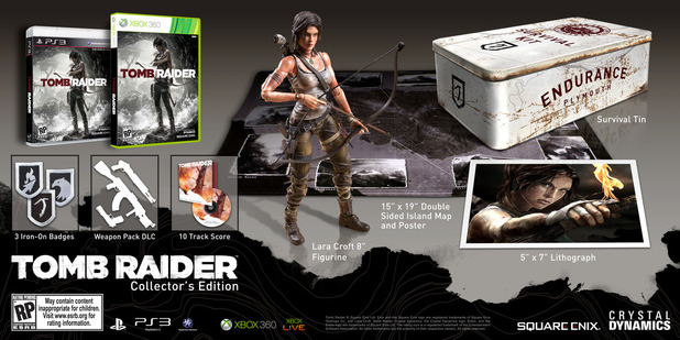 'Tomb Raider' Collectors Edition