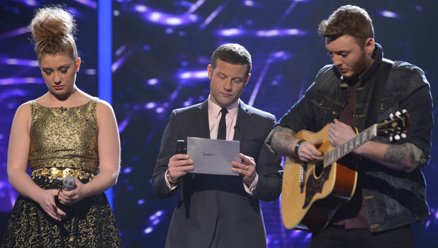 The X Factor: Dermot, James and Ella