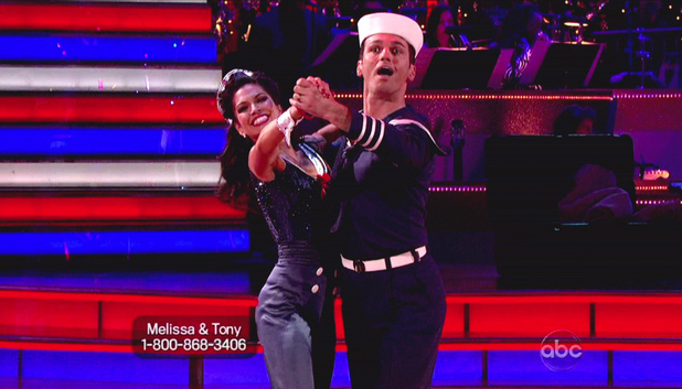 Dancing WIth The Stars S15E14: Melissa Rycroft and Tony Dovolani