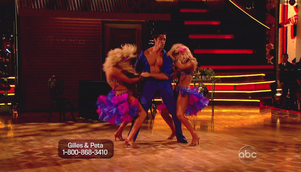 Dancing WIth The Stars S15E14: Chelsie Hightower, Gilles Marini and Peta Murgatroyd
