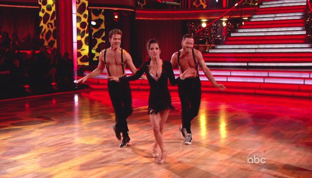 Dancing WIth The Stars S15E14: Louis Van Amstel, Kelly Monaco and Val Chmerkovskiy