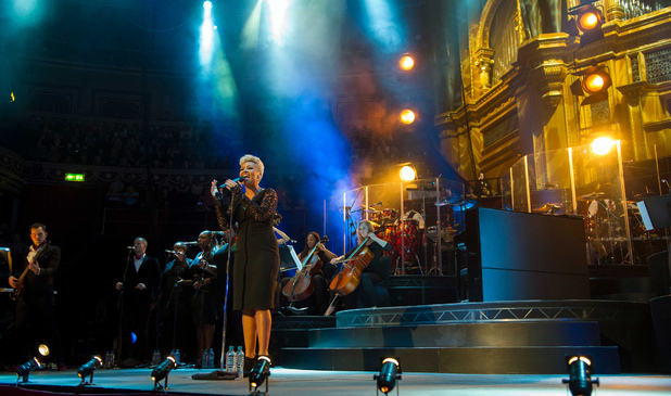 Emeli Sandé at London's Royal Albert Hall