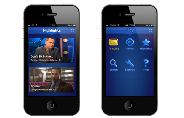 Sky+ transforms iPhone into a remote control