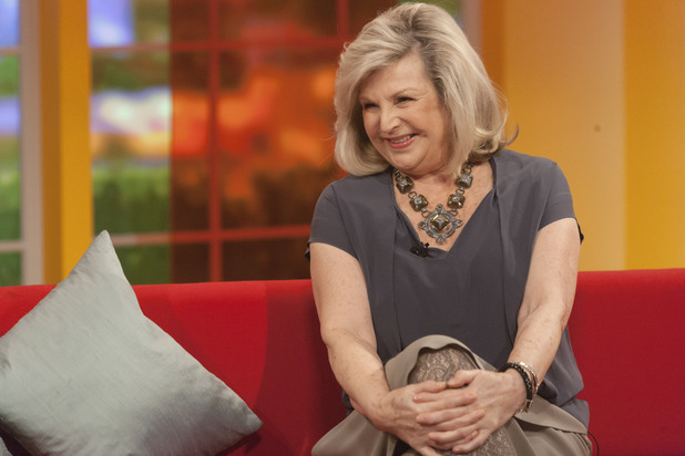 Eastenders star Ann Mitchell appears on Daybreak