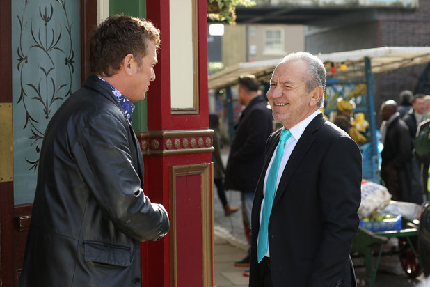 Alfie Moon (Shane Richie) and Lord Sugar