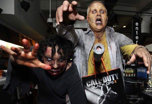 The 'Call Of Duty: Black Ops II' midnight launch