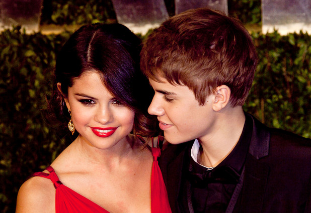 Selena Gomez and Justin Bieber 2011 Vanity Fair Oscar Party at the Sunset Tower Hotel Hollywood, California - 27.02.11 Mandatory Credit: WENN.com