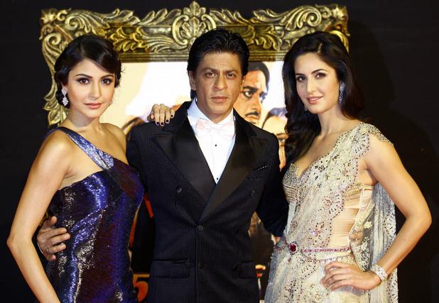 Shah at the Jab Tak Hain Jaan premiere
