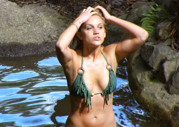 Ashley Roberts, bikini, I&#39;m a Celebrity 