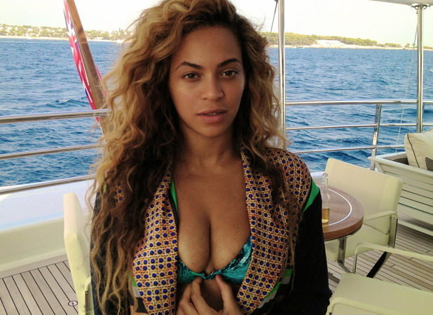 Beyonce celebrates her birthday in the south of France