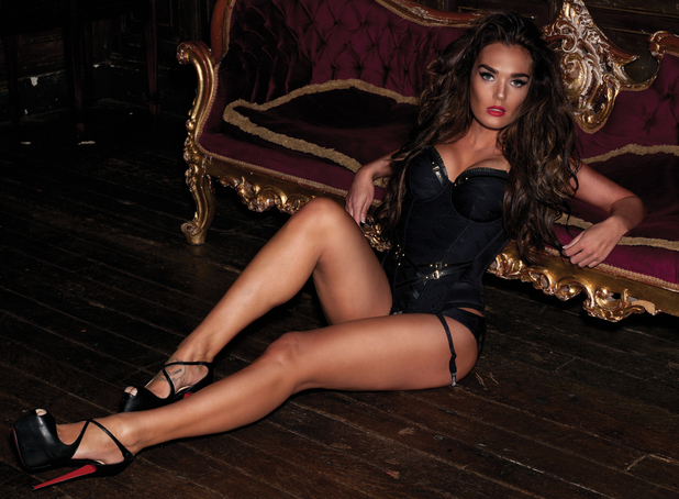 Tamara Ecclestone shoot for 'Loaded' magazine
