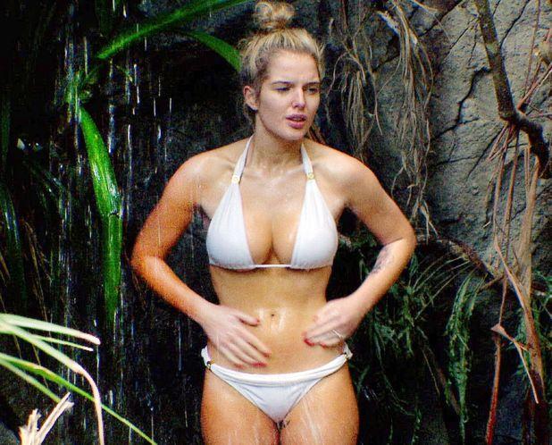 Helen Flanagan, I'm a Celebrity 2012, bikini