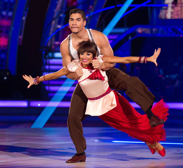 Strictly Come Dancing at Wembley: Louis and Flavia