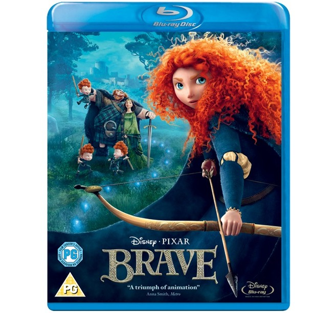 Brave Blu-ray 