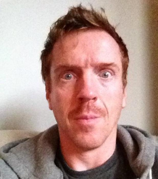 Damian Lewis takes part in Movember for charity.