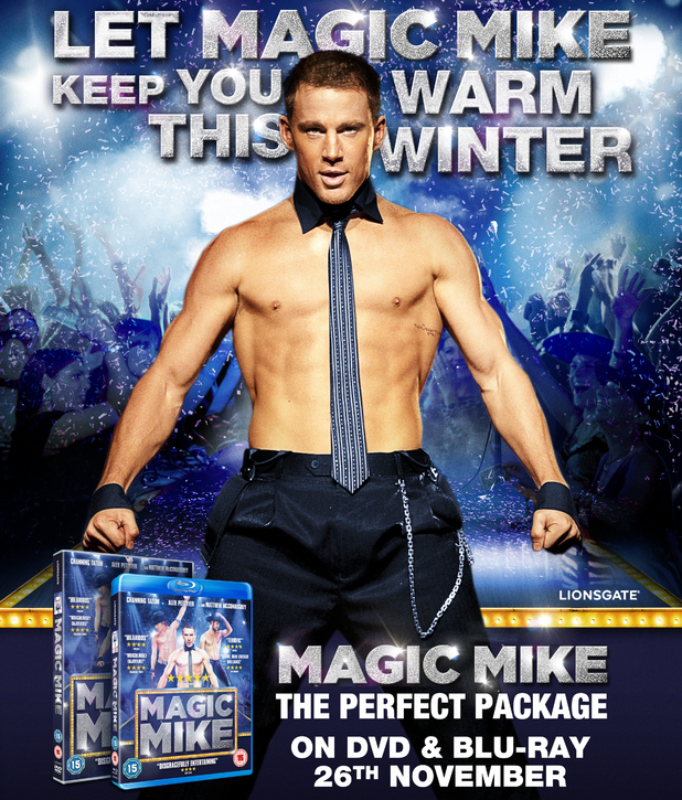 Channging Tatum in exclusive new 'Magic Mike' artwork.