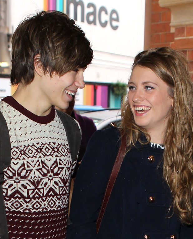 George Shelley from Union J and Ella Henderson