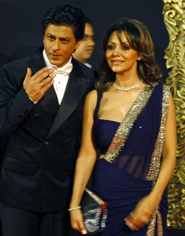 Shah Rukh Khan and wife Gauri Khan