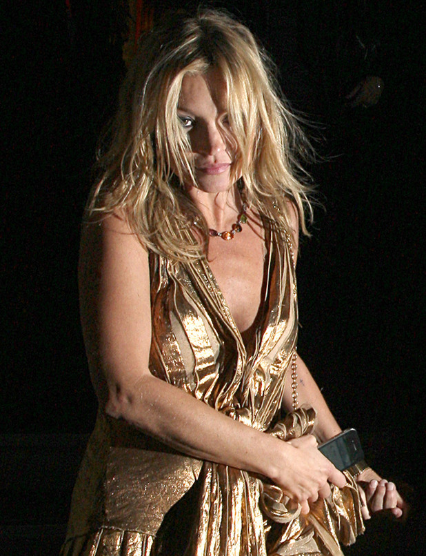 Kate Moss launches autobiography in London