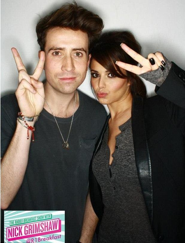 Cheryl Cole Nick Grimshaw Radio 1