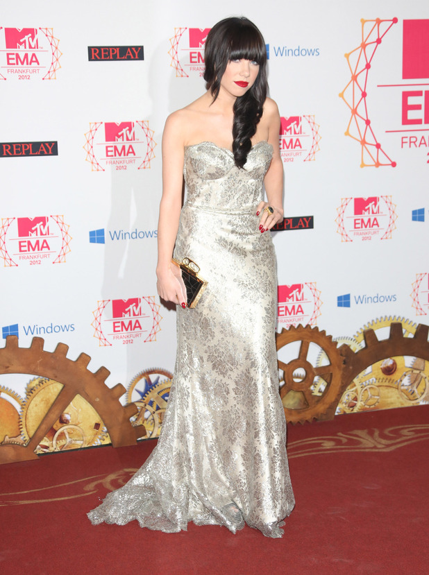 Carly Rae Jepson 19th MTV Europe Music Awards - Arrivals Frankfurt, Germany