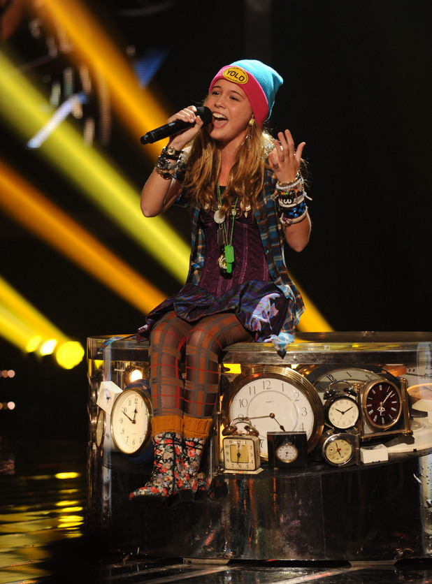 'The X Factor' Top 12 perform: Beatrice Miller