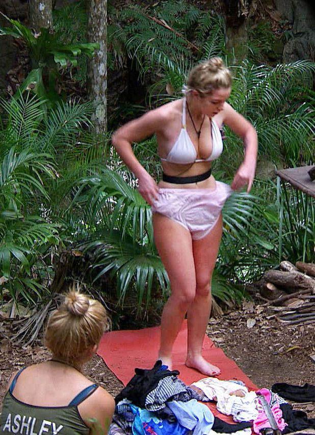 Helen Flanagan, I'm a celebrity 2012, underwear