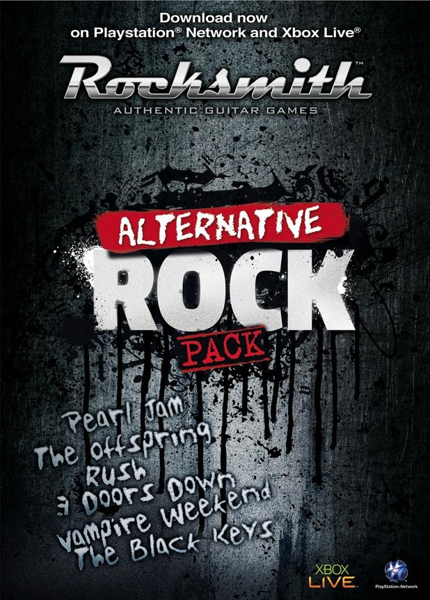 Rocksmith: Alternative Rock DLC pack cover