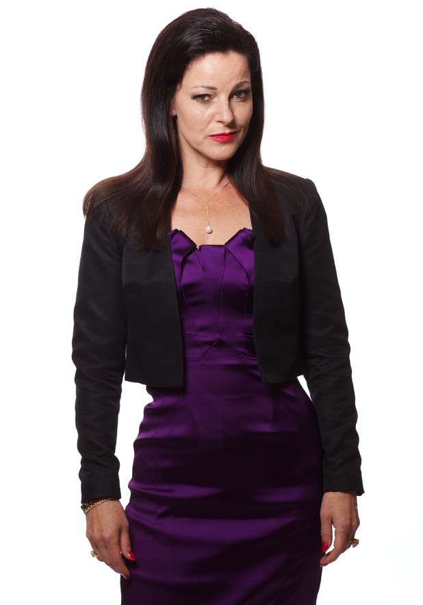 Ruthie Henshall as Gaunt in 'Wizards vs Aliens'