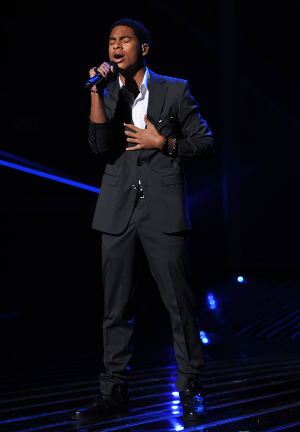 'The X Factor' Top 12 perform: Arin Ray