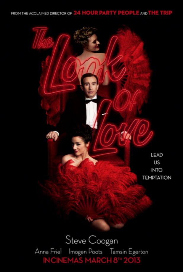 The Look of Love poster, Steve Coogan