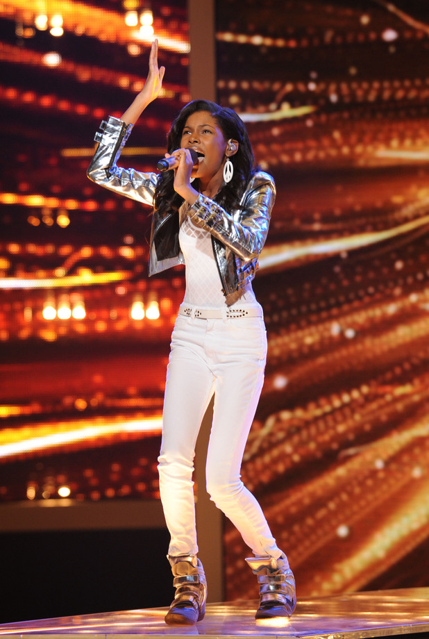 'The X Factor' Top 12 perform: Diamond White