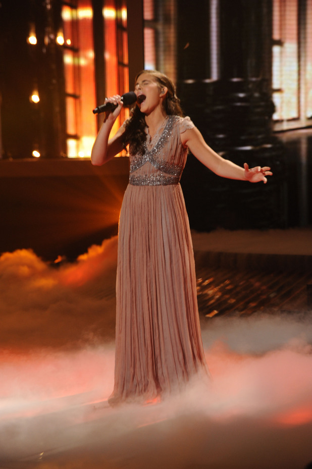 Carly Rose Sonenclar on 'X Factor' USA top 12