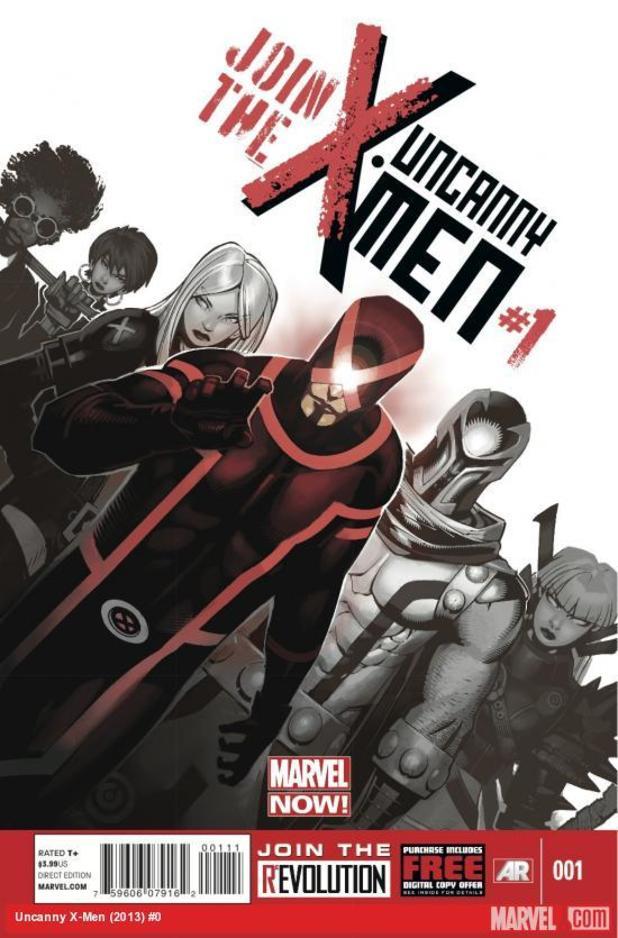 'Uncanny X-Men' #1 cover