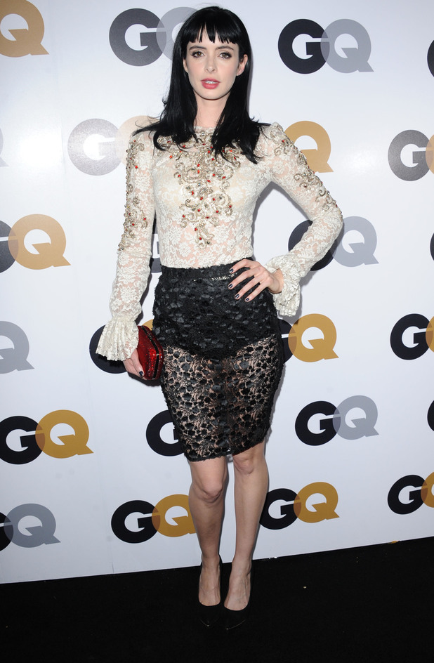 GQ Men Of The Year, Krysten Ritter