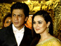 SRK, Preity Zinta in 'Veer-Zaara' match