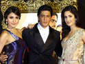 Actor stars with Katrina Kaif and Anushka Sharma in the Bollywood mashup track.