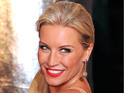 "Denise Van Outen says she looks at the Olympian like ""a little brother""."