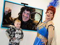 Strictly Come Dancing judge promotes Skype pantomime by dressing as Wicked Queen.