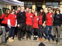 Kelly Osbourne works with Salvation Army in hard-hit Staten Island.