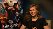 Isla Fisher talks to Digital Spy about voicing the Tooth Fairy in Rise of the Guardians.