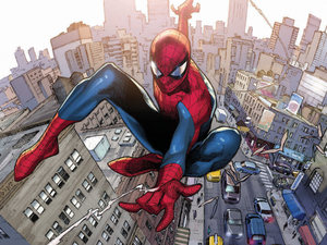 Amazing Spider-Man #700 Olivier Coipel variant cover